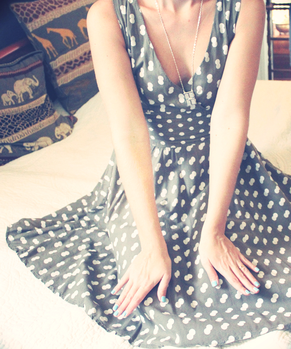 robe pois dolce vita shoes