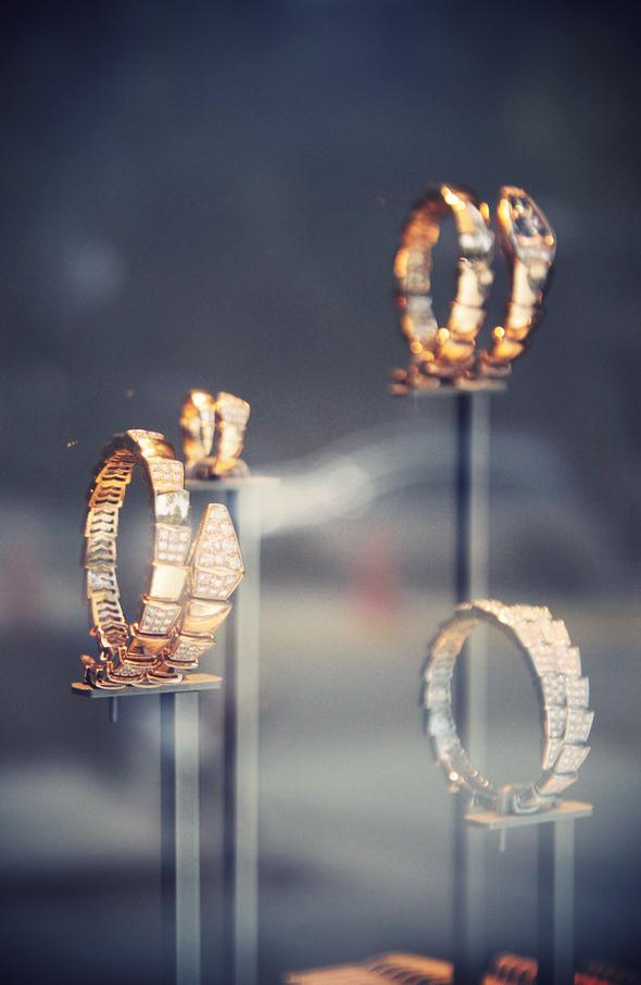 bijoux bulgari serpent