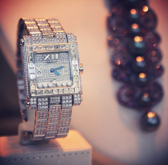 montre bulgari diamants