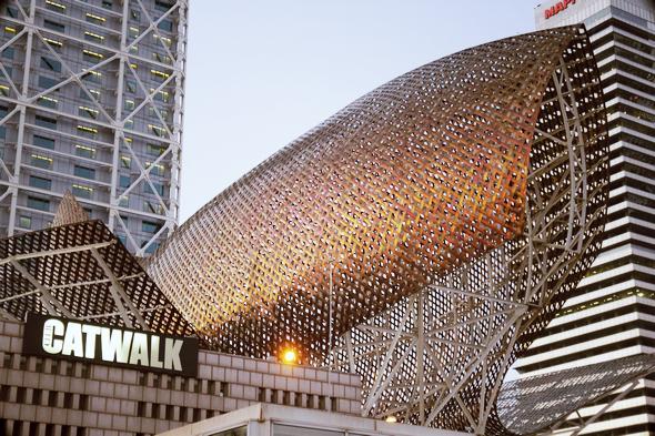 Golden fish de Frank Gehry