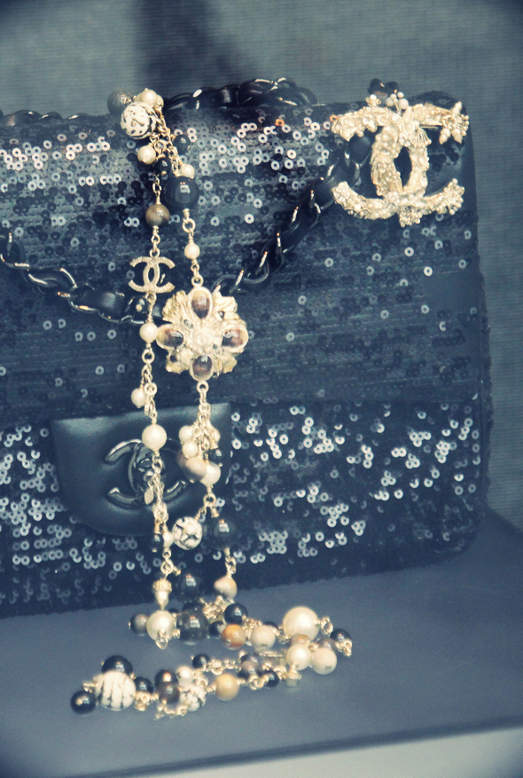 sac chanel brode sequins
