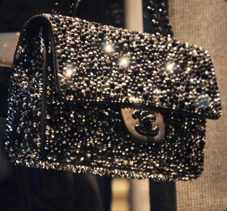 timeless bag black sequins