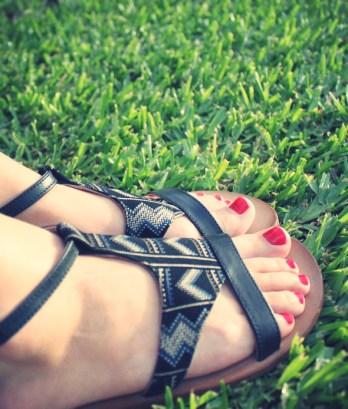 sandales tatoosh azteca