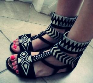 h&m fashion against aids chaussures