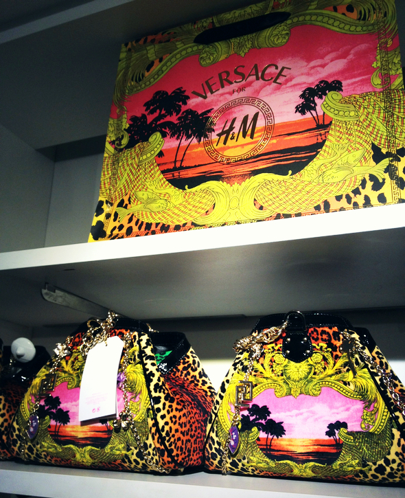 visuels versace for h&m