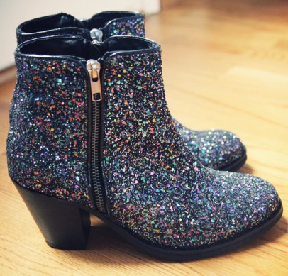 bottines paillettes topshop ambush