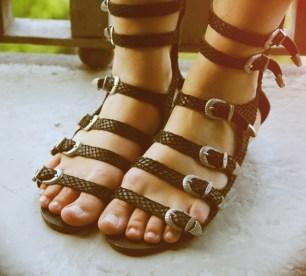 sandales dolce vita noires