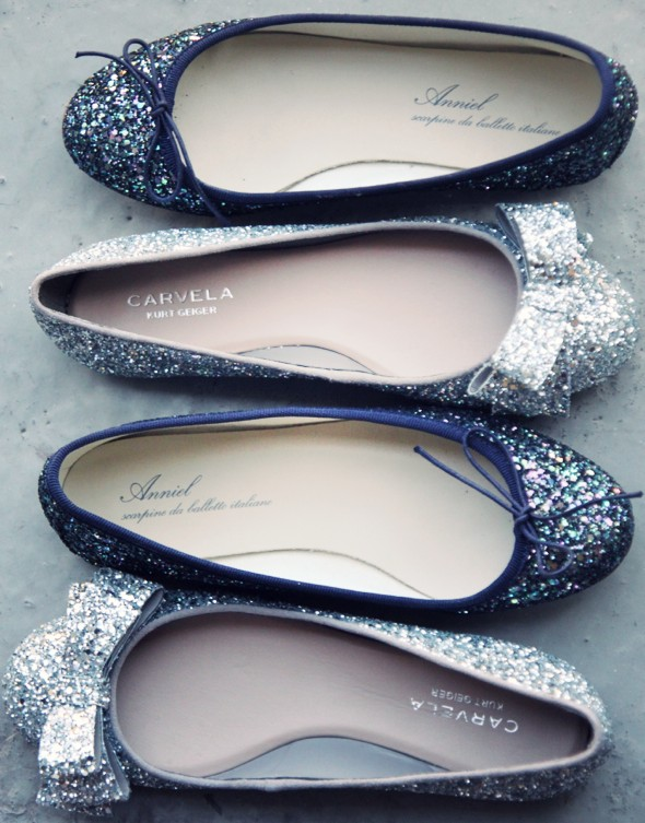 chaussures sequins