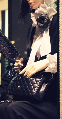 Chanel timeless classic bag tuxedo winter 2011 2012_effected