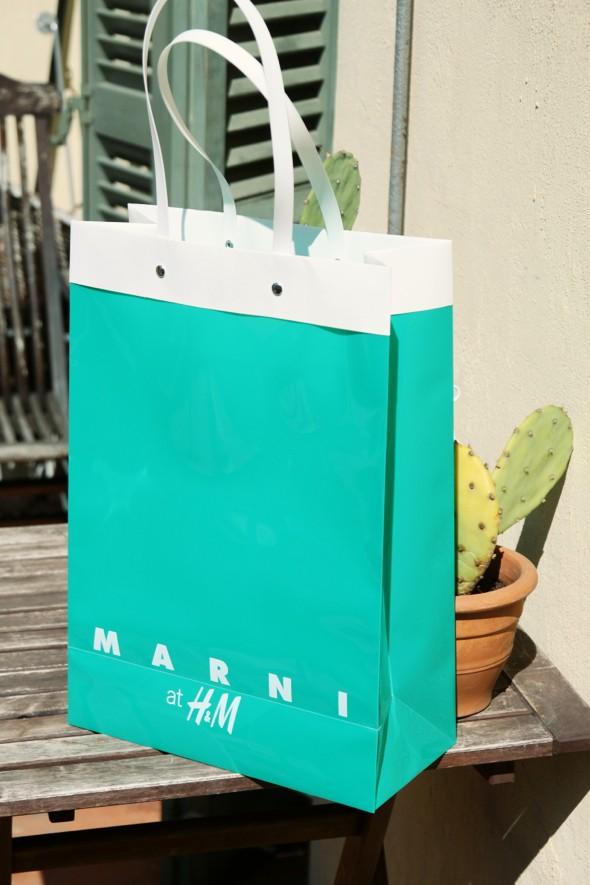 Marni x H&M sac shopping