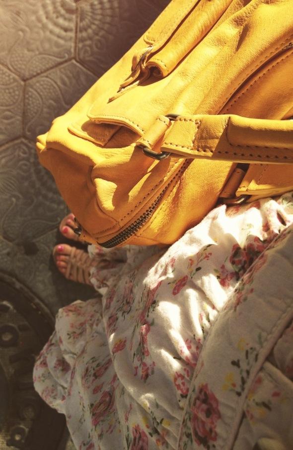 nat&nin sac à main jaune