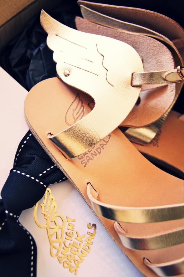 Sandales ailees spartiates