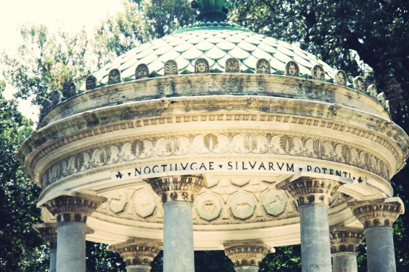 architecture romaine villa borghese