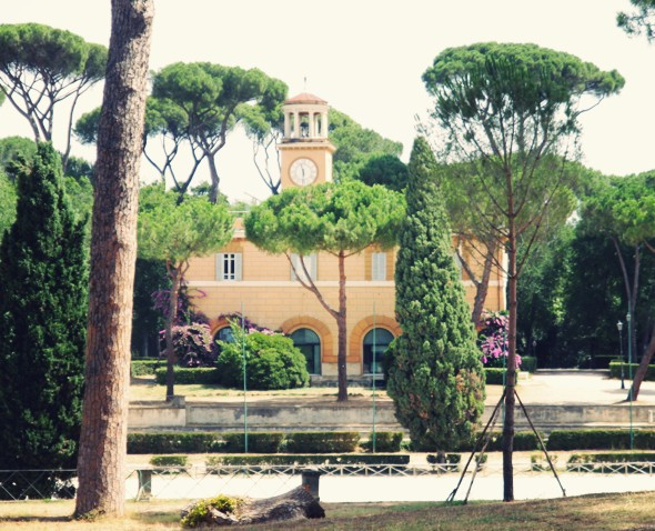 villa borghese italie rome