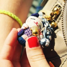 cat japanese keyring neko_effected