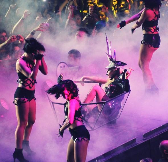 concert de Lady Gaga