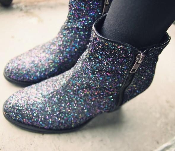 topshop glitters botts