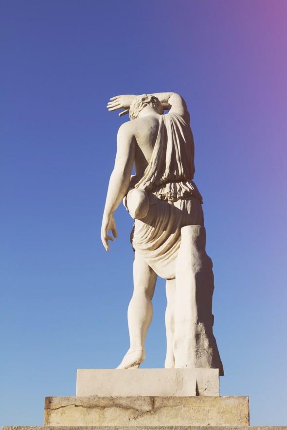 montjuic statue