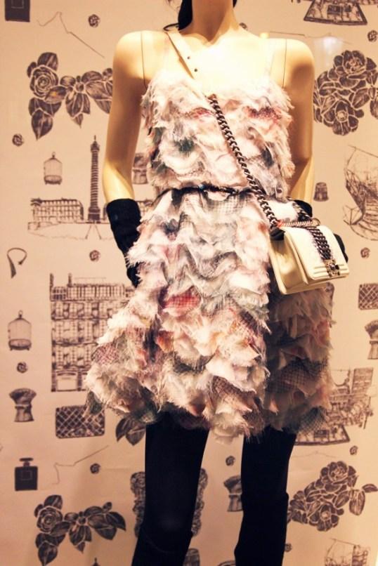 robe chiffon chanel