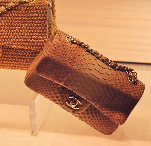 cuir exotique python