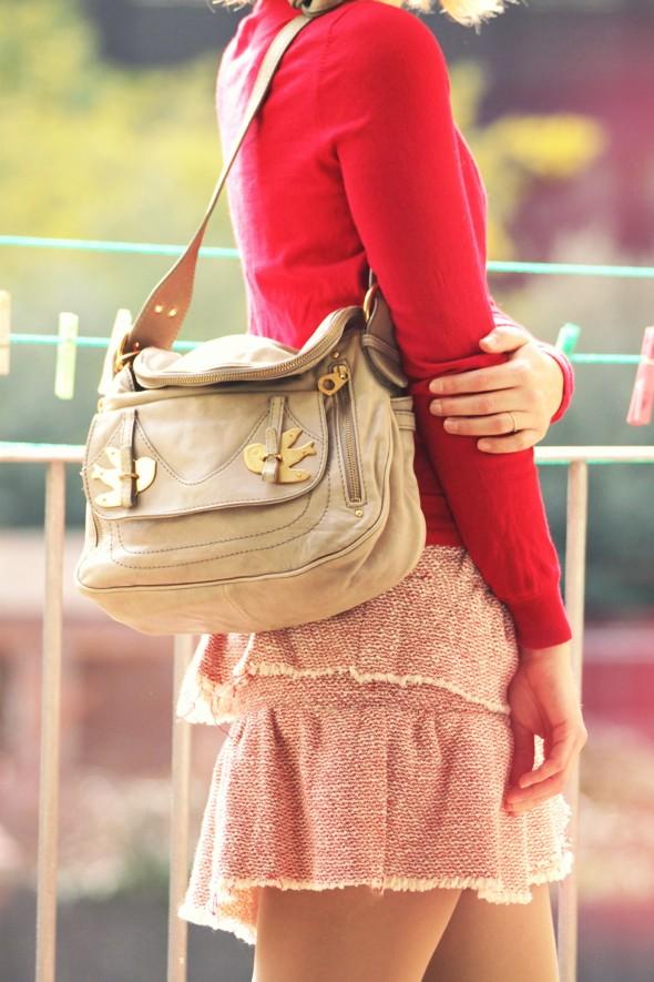 jupe skirt by zoe pull zara sac marc by marc jacobs natasha_effected