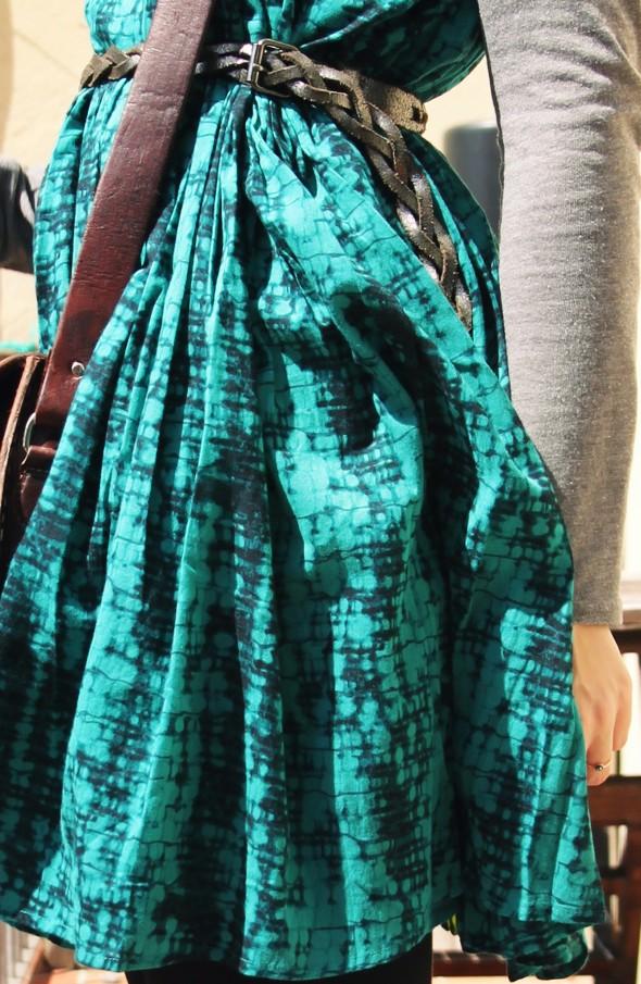 --robe augustine ba&sh dress esmerald émeraude_effected