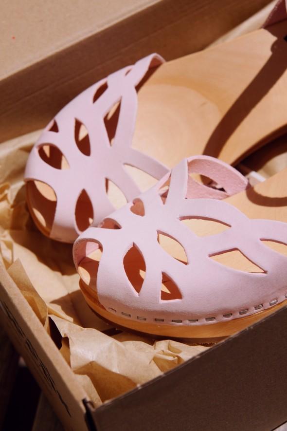 sandales Swedish Hasbeens
