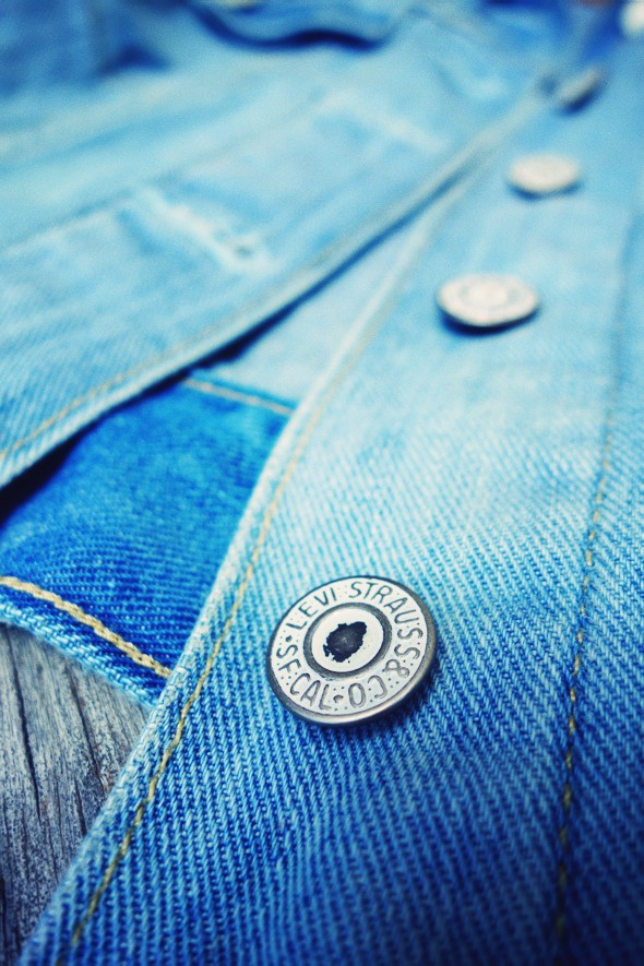 -levi's denim jacket veste jean levis 2013_effected