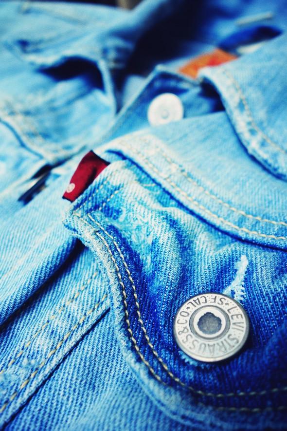 levi's denim jacket veste jean levis 2013_effected