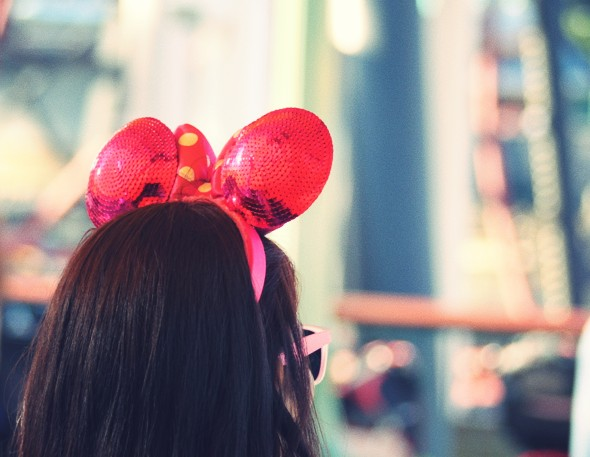 minnie mouse chapeau