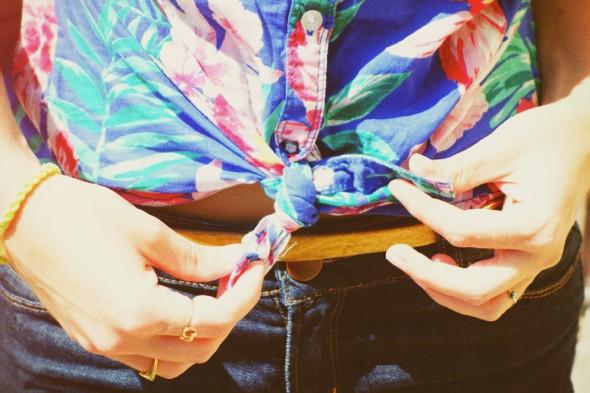 _chemise roxy hibiscus hawaii shirt short naf naf sac natasha marc by marc jacobs petal to the metal bag sac_effected