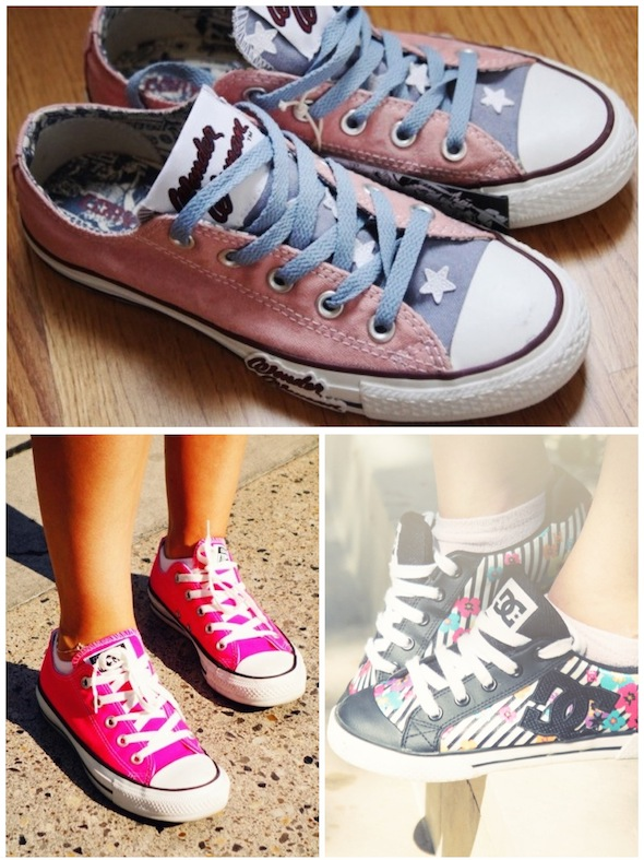 converse low wonder woman hot pink rose bif dc shoes flowers fleurs