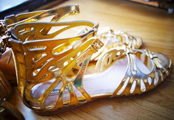 _shoes chaussures zapatos miu miu capretto ash malibu repetto rich or oro gold_effected