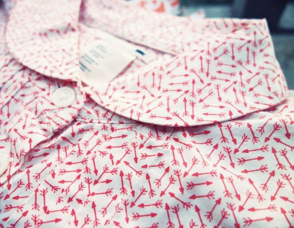 chemise chemisier blouse levi's arrow fleches shirt 2013_effected
