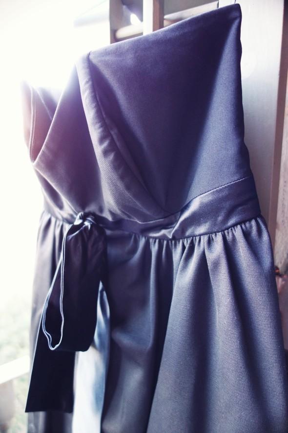 robe bustier noire delphine maniet la redoute 2013 soirée mariage dress_effected