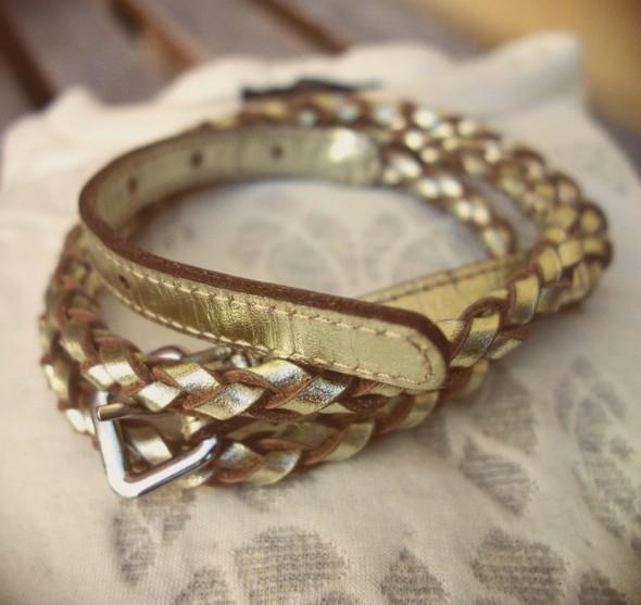 ceinture belt or doré gold dorée comptoir des cotonniers braided tresse tréssée 2013 2014 mode_effected