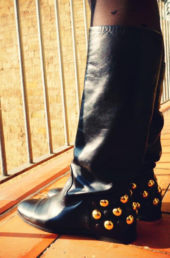 gucci babouska babooska boots bottes oysho collants_effected