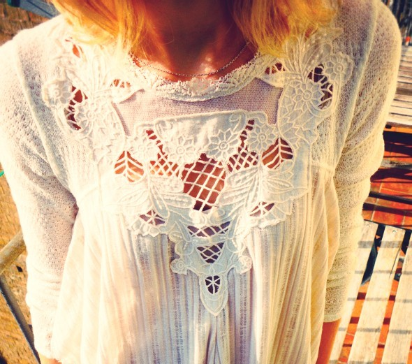 blouse free people