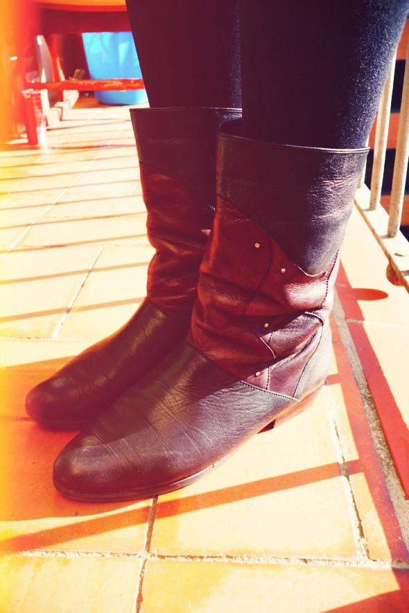 bottes vintage