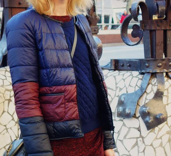 -robe dress vestido zara wrapped drapée hiver winter 2013 trf trafaluc petit bateau sweater pull comptoir des cotonniers mademoiselle mlle plume doudoune_effected-001