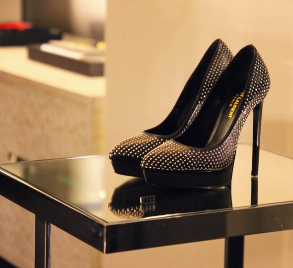 yves saint laurent shoes studs_effected