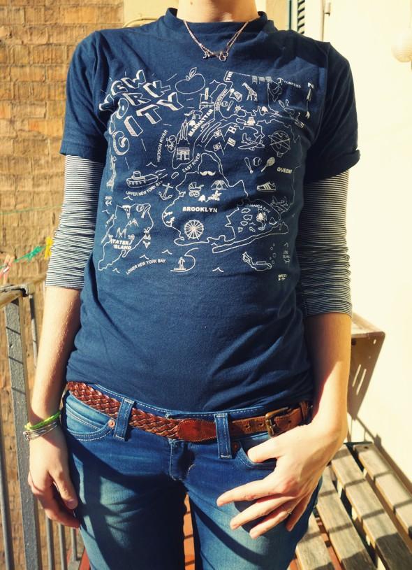 t-shirt plan de new york