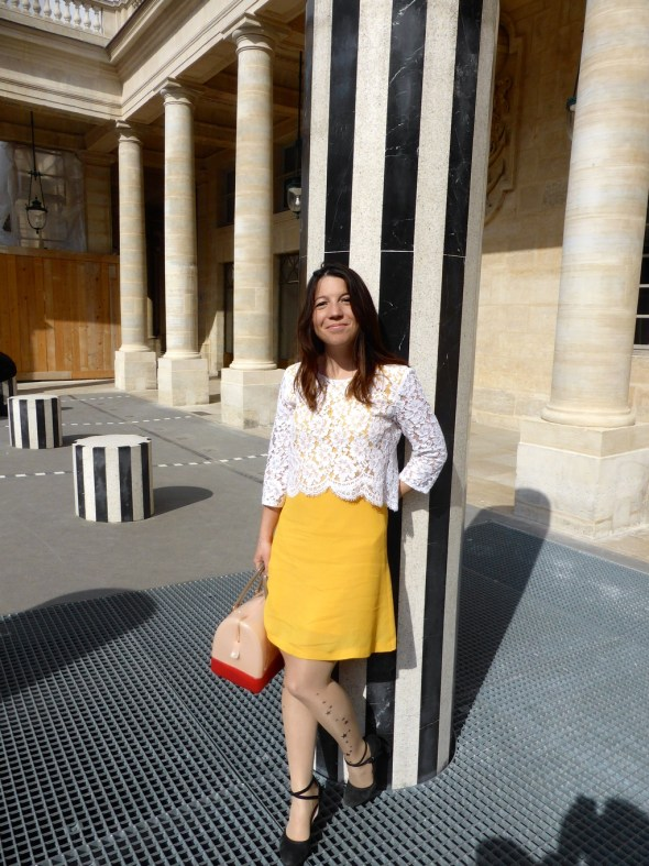 blogueuse colonnes de buren paris