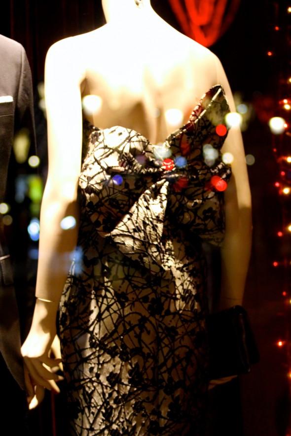 vitrines de Noël caroline herrera