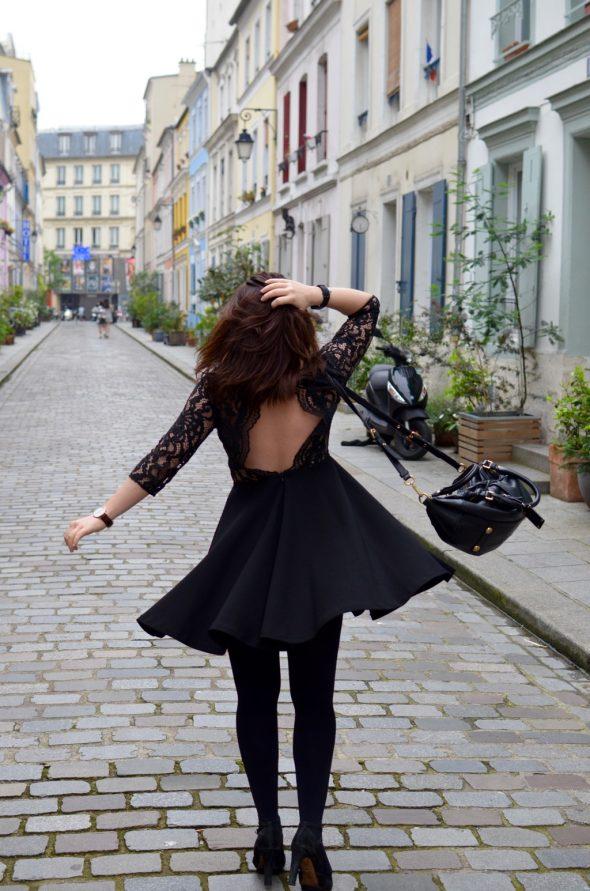 Cremieux Petite robe noire tour