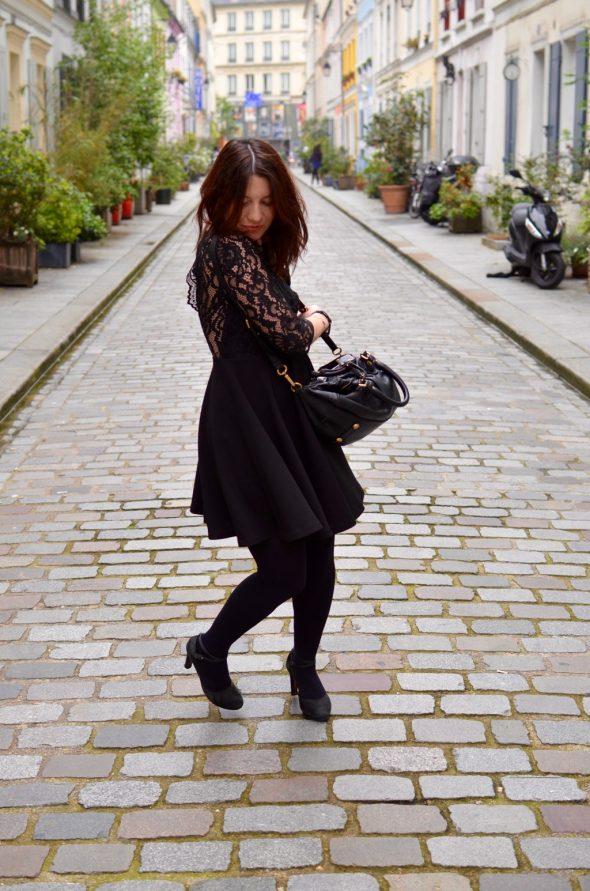 Cremieux Petite robe noire reception tou