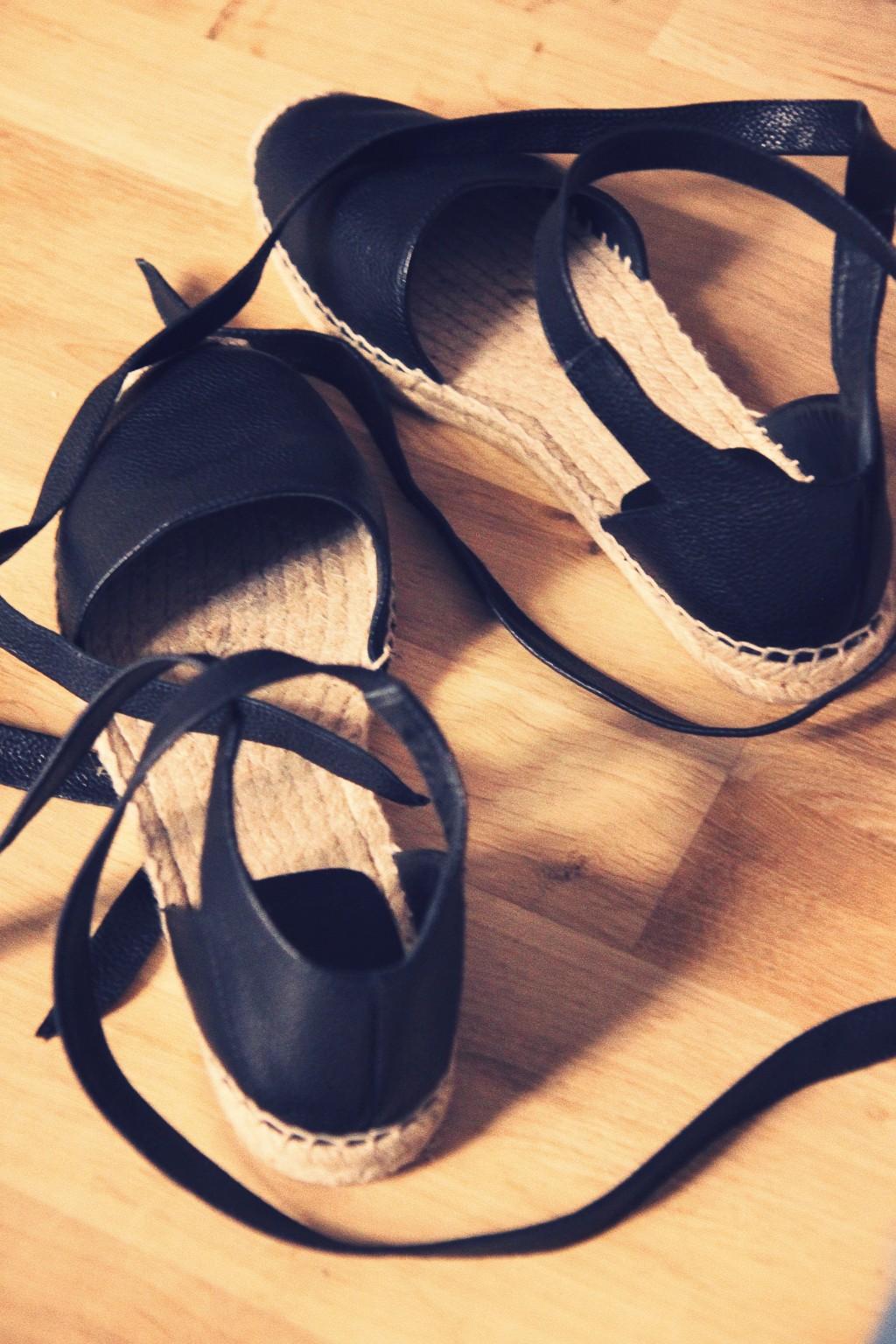 espadrilles lacets yves saint laurent
