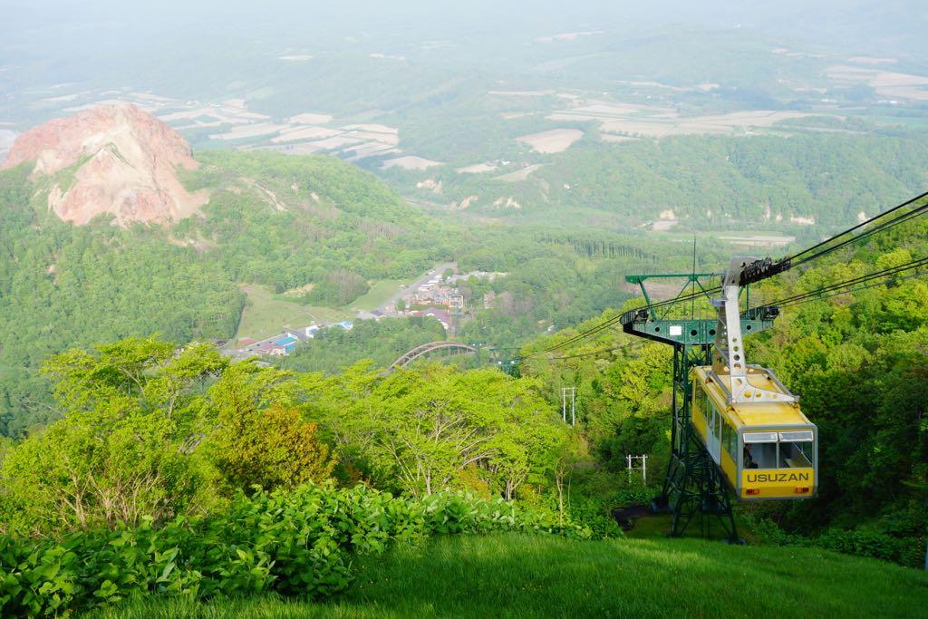 Hokkaido volcan
