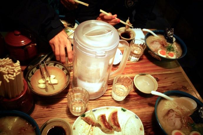plats typiques japonais ramen tokyo
