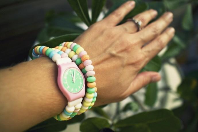 montre pastel